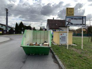 Úřad vHrabové nechá vříjnu přistavit kontejnery na velkoobjemový odpad