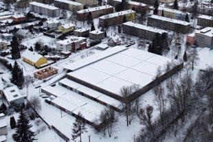 (FOTO) Hrabová pod sněhovou nadílkou