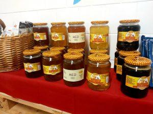 Med v prodejně Lahůdky Hrabová na Šídlovci