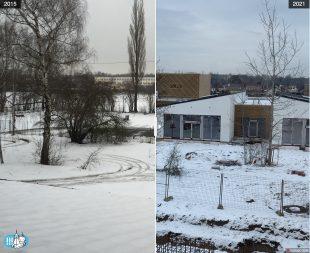 (FOTO) Srovnávací fotky: Pohled zbudovy úřadu [001]