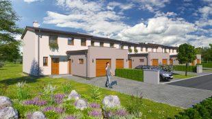 (FOTO) Společnost RD STYL zahájila vOstravě-Hrabové výstavbu 35 řadových domů