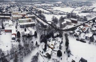 (FOTO) Šídlovec pod sněhem