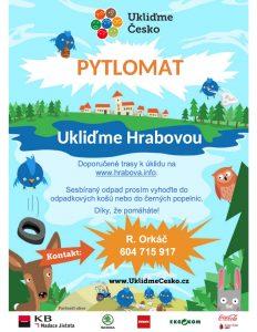 Místa s výdejem pytlomatů budou označena tímto plakátkem