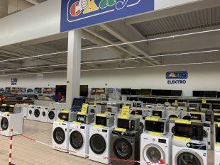 (FOTO) Hrabová: Vprostorách Tesca brzy otevře prodejna OKAY