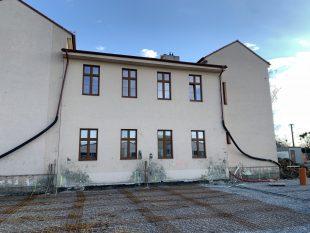 (FOTO) Stavba školky akulturního sálu 02-03/2021