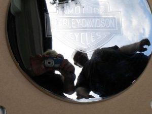 Maruna Cholewowa prodává věci se značkou Harley Davidson | Zdroj [3]