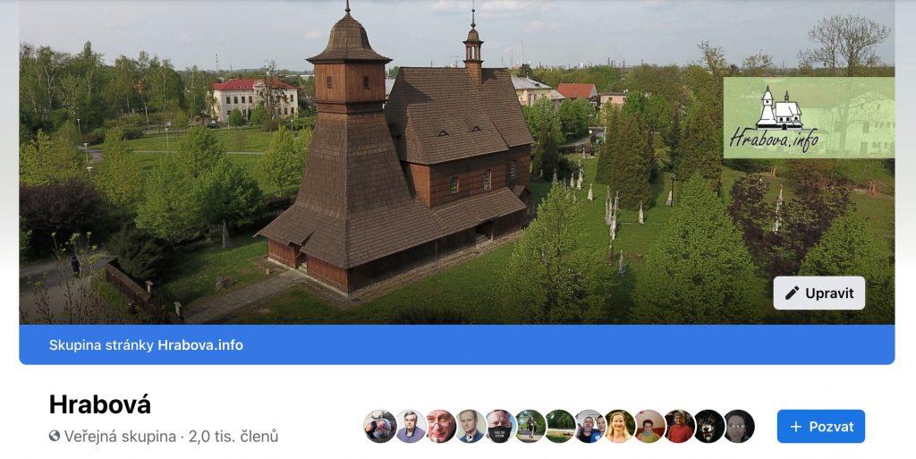 Facebooková skupina Hrabová má přes dva tisíce členů