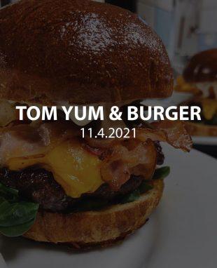 Restaurace Stodola: Tom Yum & Burger – 11.4.2021