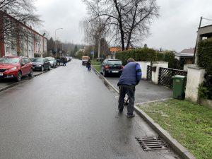Úklid na ulici U Kotelny