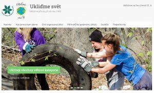 Titulni fotka na webu Ukliďme Svět pochází z webu Hrabová.Info