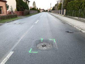 Kanalizace u ulice Závadova není nikoho...