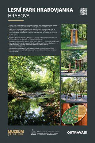 (FOTO) Zelená Hrabová: Lesní park Hrabovjanka součástí putovní výstavy