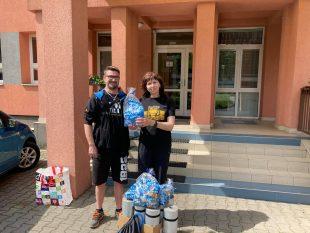 David Bystroň: Předali jsme dárky dětskému domovu vHrabové