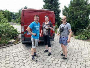 (FOTO) Martin Pivko poděkoval všem, kdo pomohli apomáhají!