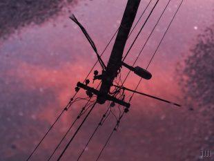 (FOTO) Barevná obloha mezi bouřkami