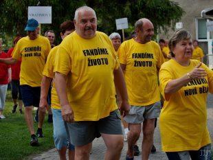 Pavla Svobodová: Sportovní klání důchodců nám zpestřilo život